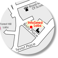 InfoSeed location map