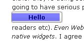 WebKit CSS button
