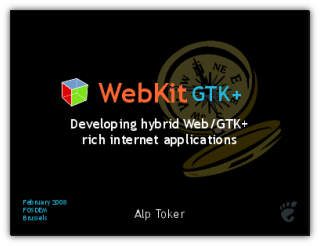 Developing hybrid Web GTK+ applications